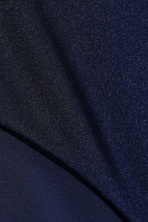 ZIMMERMANN Juniper Scarf knotted cutout bandeau swimsuit