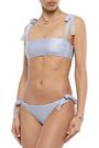 ZIMMERMANN Bow-detailed polka-dot bikini