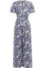 LISA MARIE FERNANDEZ Printed linen jumpsuit