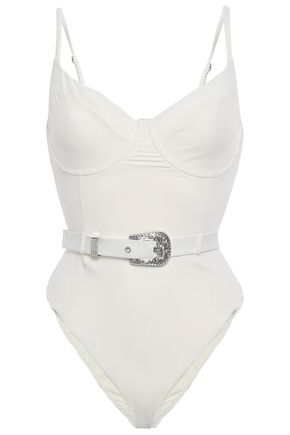ONIA Belted swimsuit