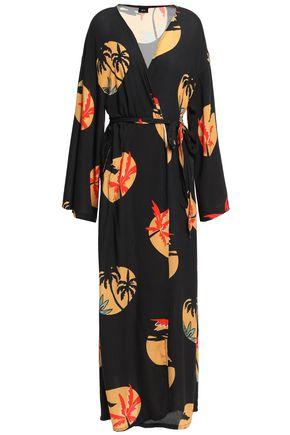 ONIA Meika crepe robe