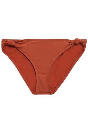 TORY BURCH Knotted mid-rise bikini briefs