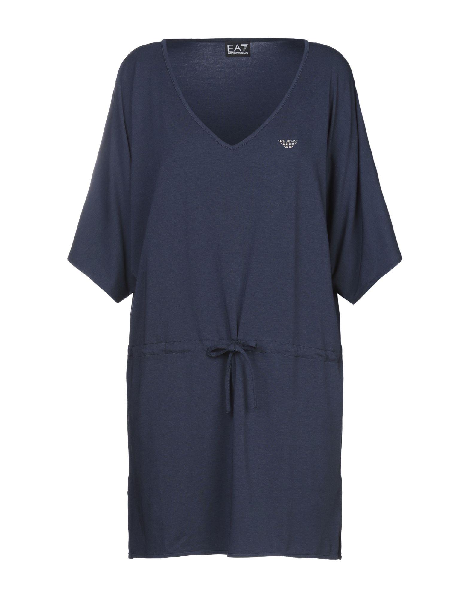 EA7 Короткое платье ea7 длинное платье