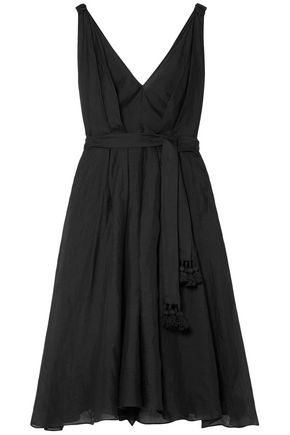THREE GRACES LONDON Dolores ramie midi dress