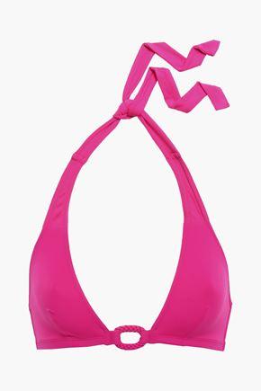 ERES Compact Stud halterneck bikini top