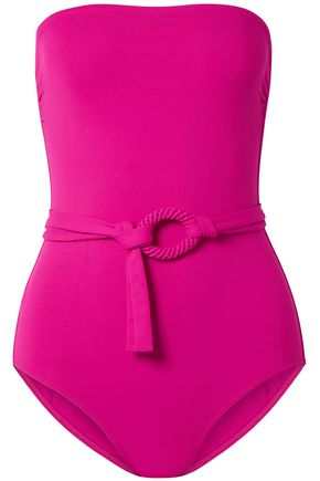 ERES Studio Expo belted bandeau swimsuit