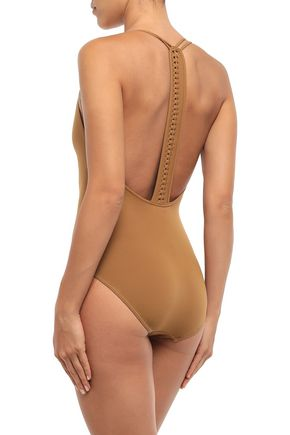 ERES Close Up Mirella braid-trimmed swimsuit