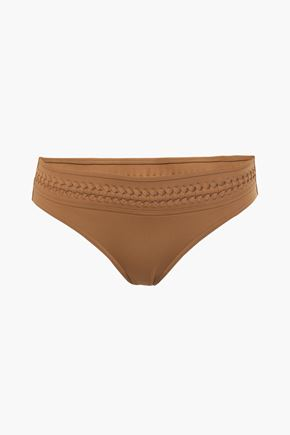 ERES Skylight braid-trimmed low-rise bikini briefs