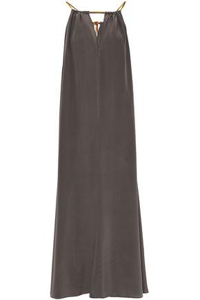 ERES Cinecittà Ornella satin-trimmed silk maxi dress