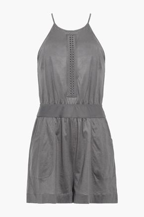 ERES Cesar cotton-jersey playsuit