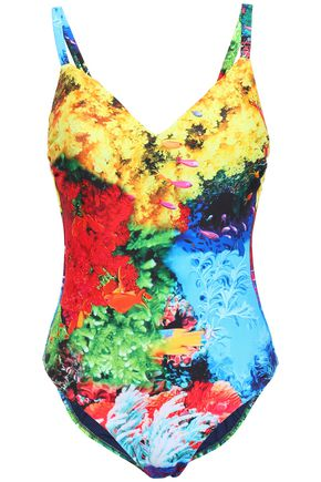 MARY KATRANTZOU Printed swimsuit