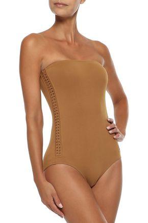 ERES Polarize strapless braid-trimmed swimsuit