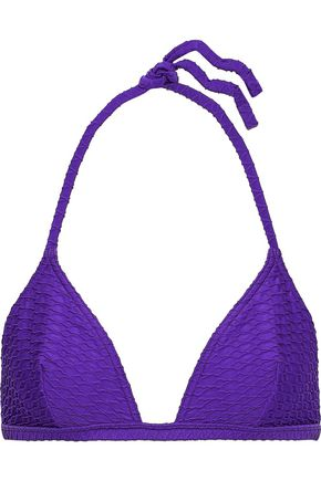 ERES Edito Reporter matelassé triangle bikini top