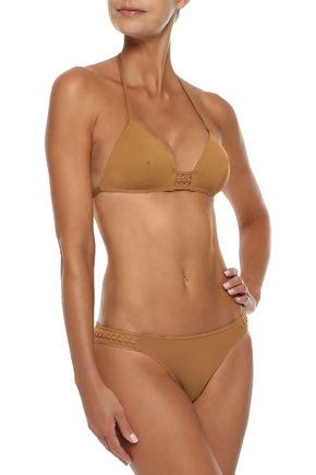 ERES Close Up Déclic braid-trimmed low-rise bikini briefs