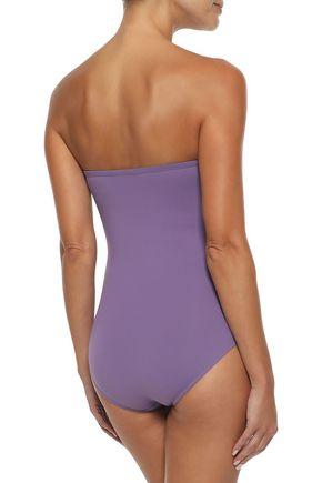 ERES Rédac Babeth lace-up bandeau swimsuit