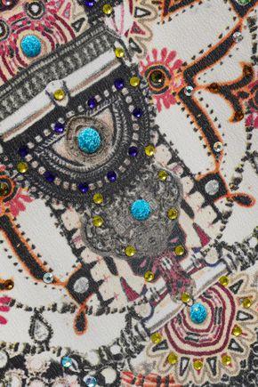 CAMILLA On The Road embellished silk crepe de chine kaftan