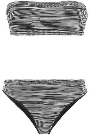 MISSONI MARE Mare crochet-knit bandeau bikini