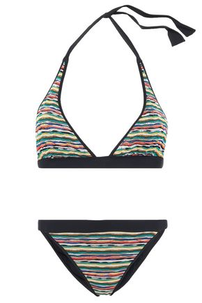 MISSONI MARE Mare crochet-knit halterneck bikini
