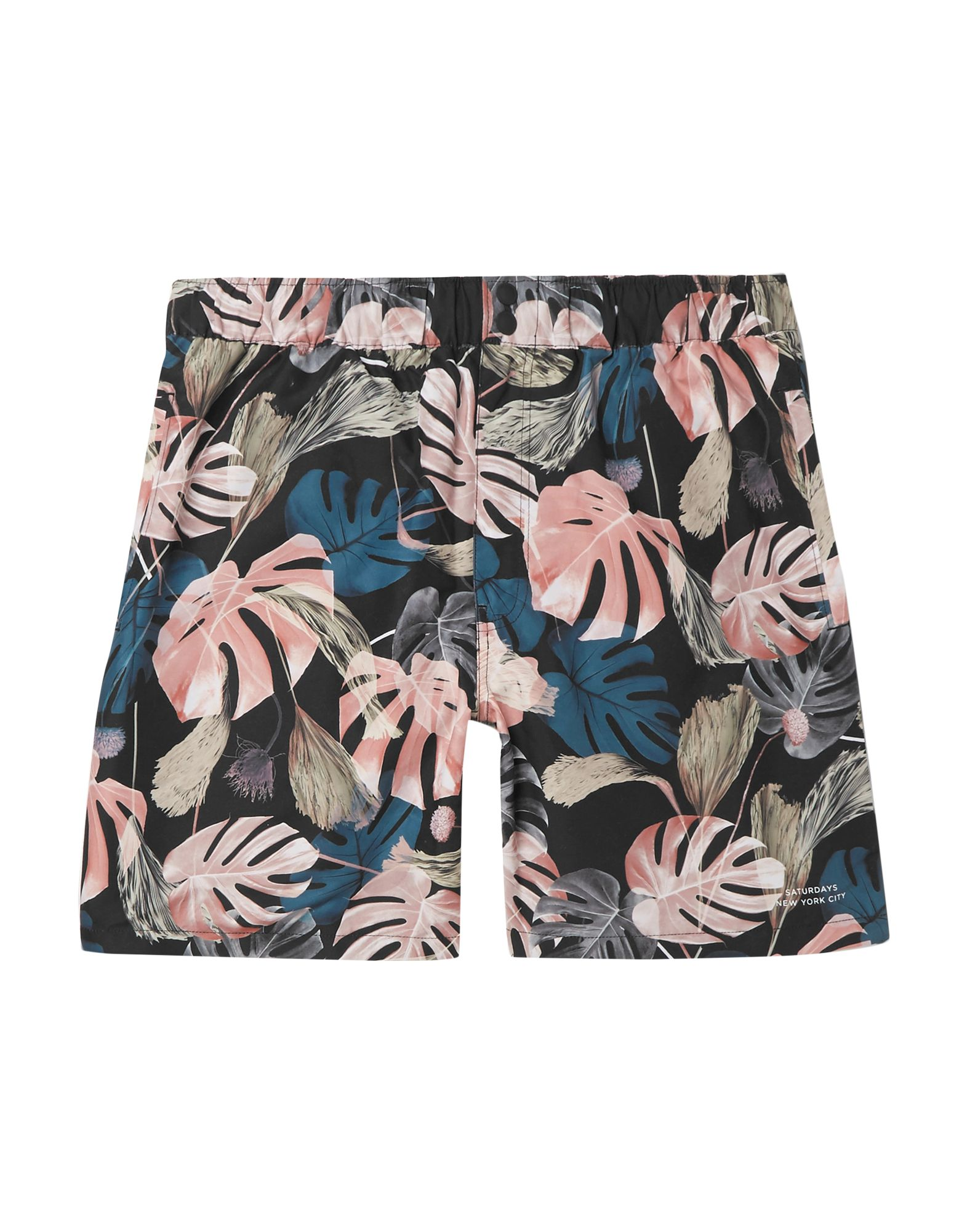 SATURDAYS NEW YORK CITY Шорты для плавания saturdays new york city пляжные брюки и шорты