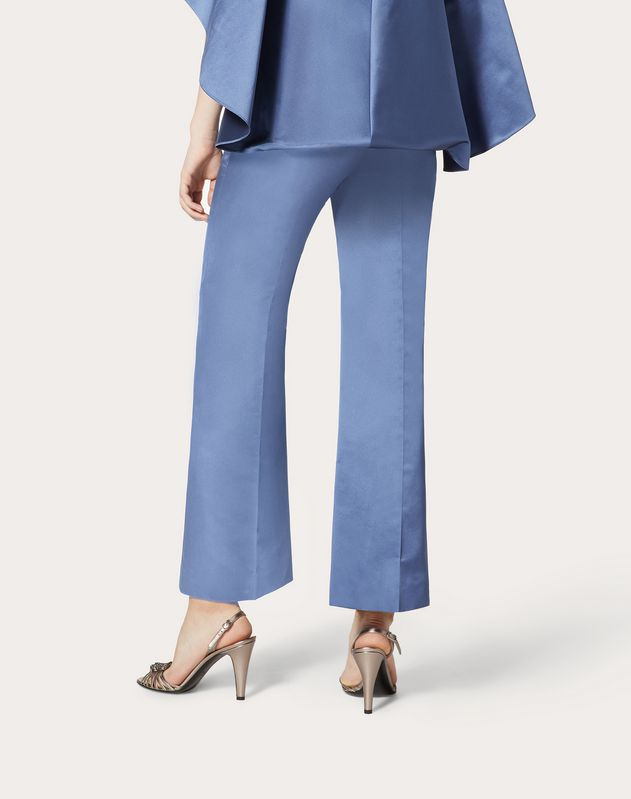 Duchesse-Silk Trousers