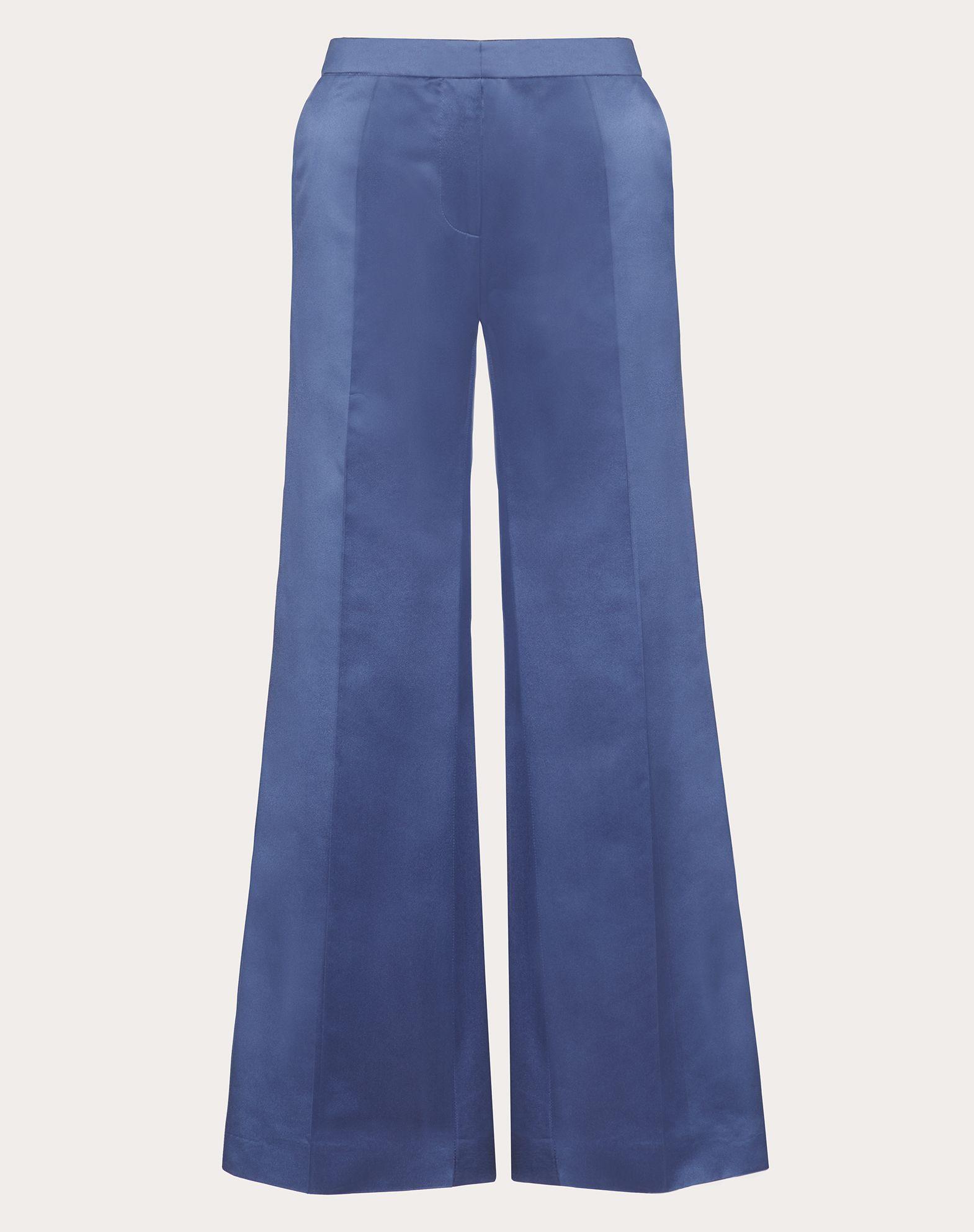 Pantalon en duchesse de soie