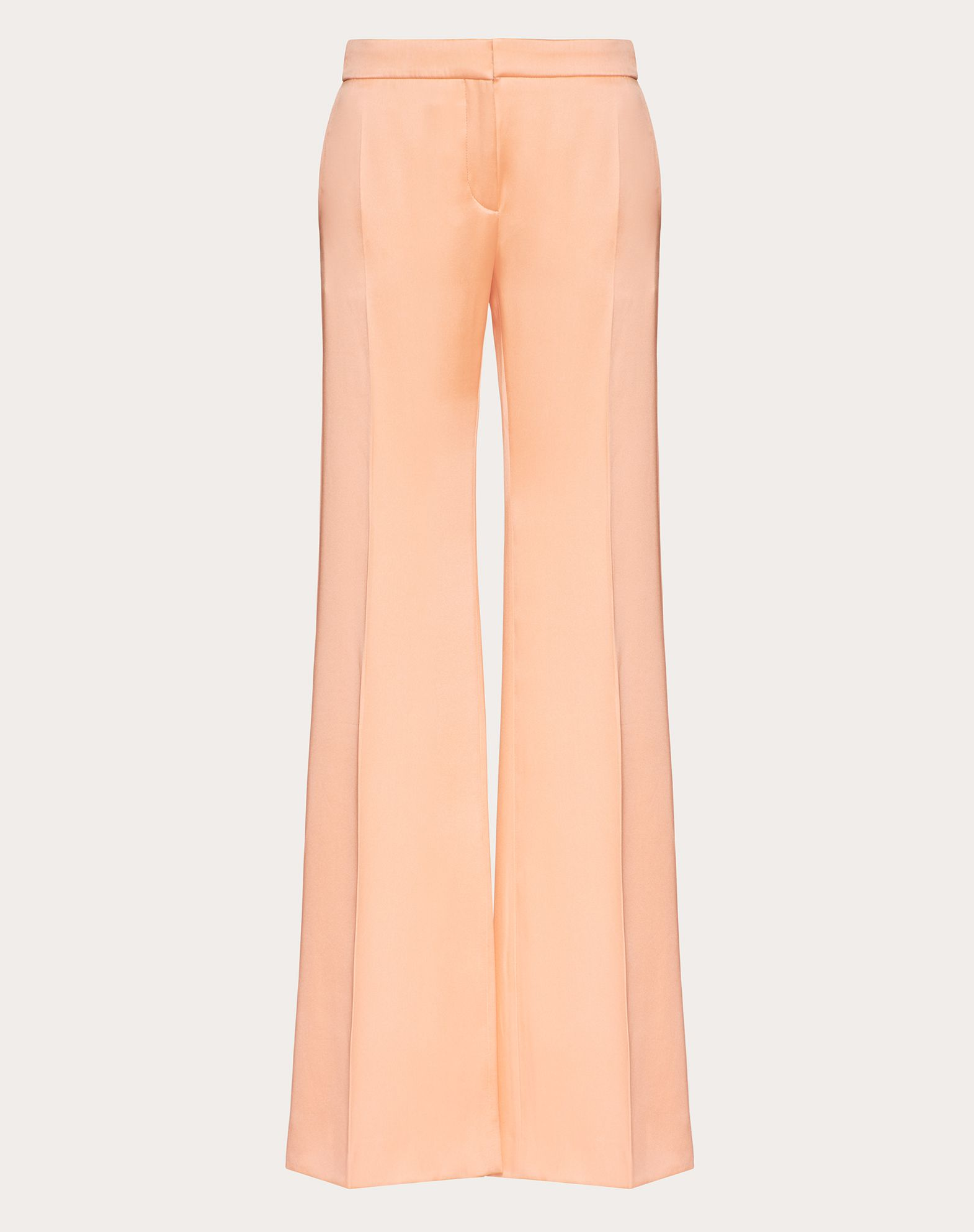 Double Fluid Satin Trousers