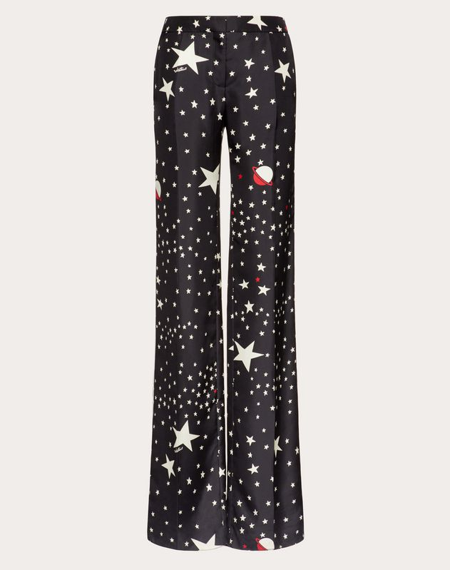 Printed Twill Pyjama Bottoms