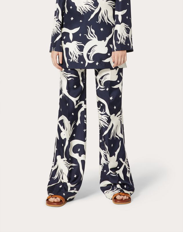Printed Pajama Pants