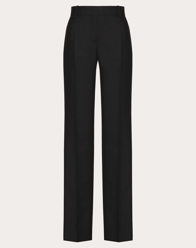 Wool and Mohair-Blend Trousers