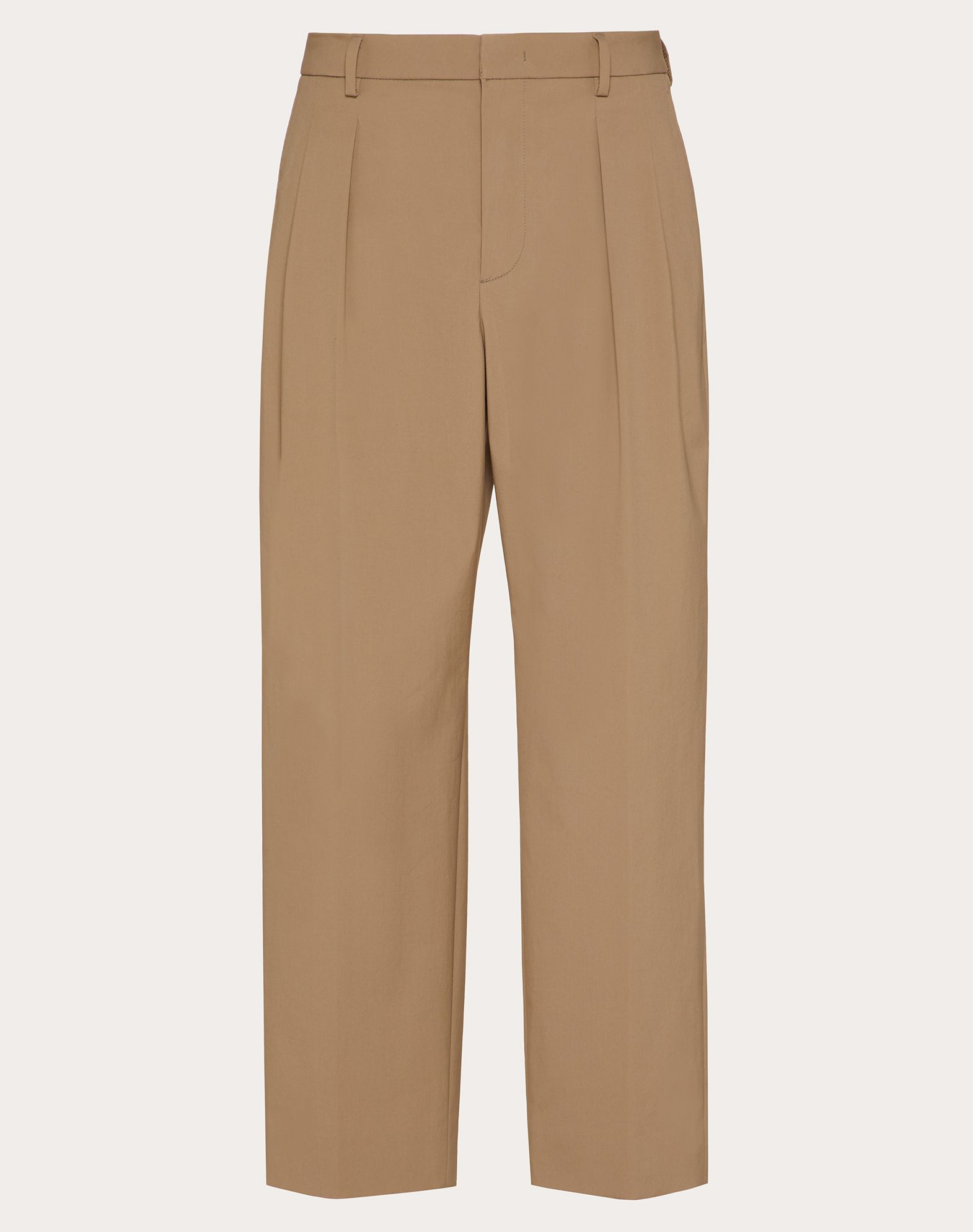 TWIN PLEAT PANTS