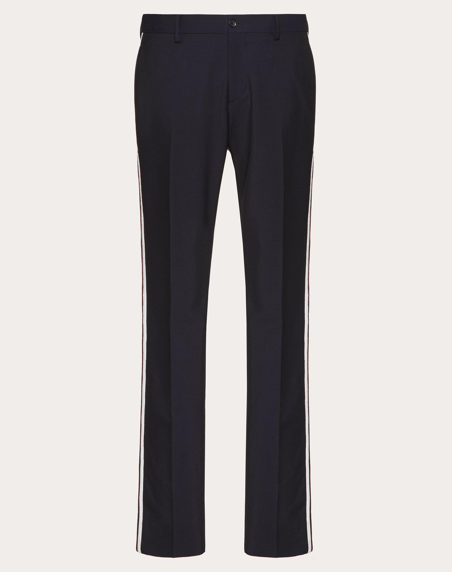 MOHAIR WOOL TROUSERS