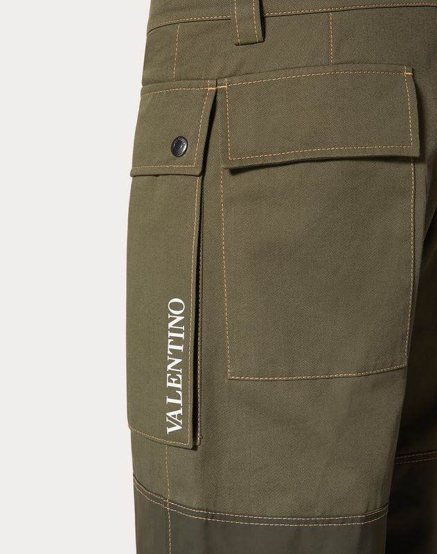 VALENTINO ON LOVE CARGO PANTS