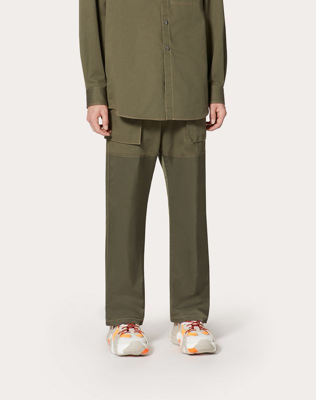 VALENTINO ON LOVE CARGO TROUSERS
