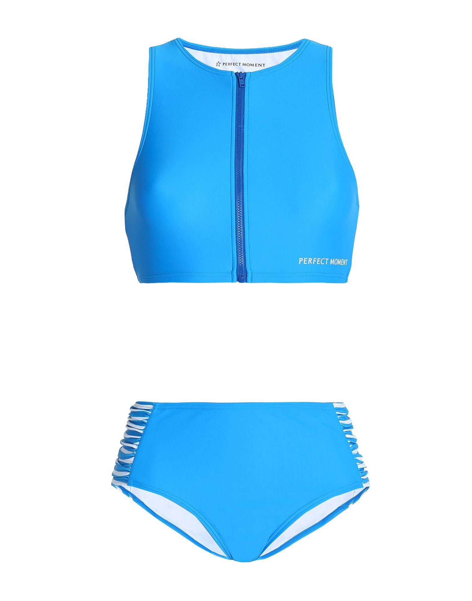 《セール開催中》PERFECT MOMENT レディース 水着(ビキニ) アジュールブルー M ポリイミド 80% / ポリウレタン 20%