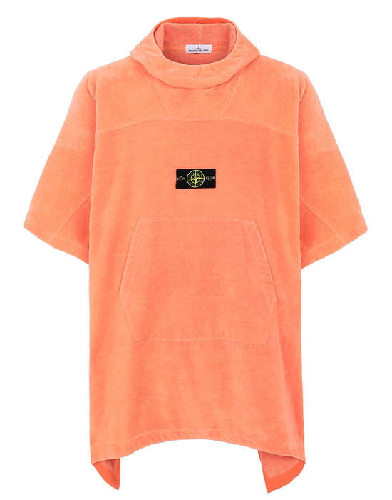 STONE ISLAND 93378 Bademantel Herr Helle Orange