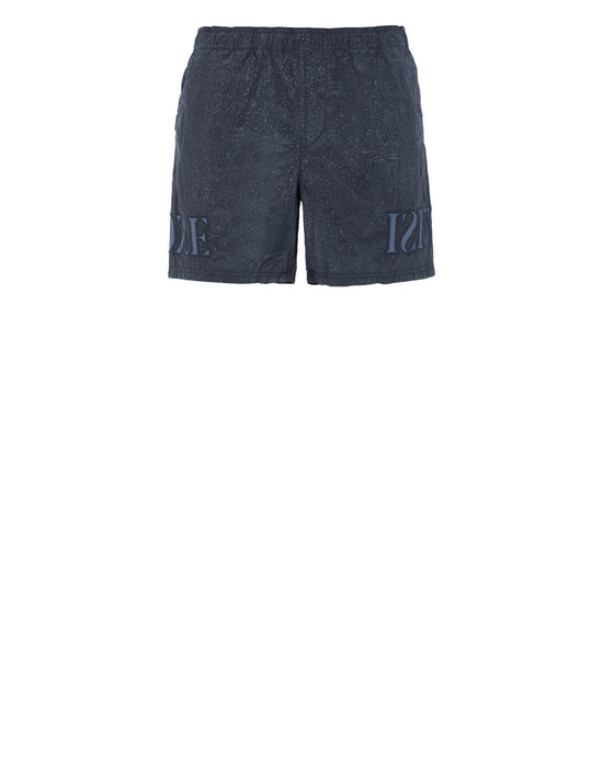 STONE ISLAND B0444 NYLON METAL-FLECK TREATMENT  Badeboxer Herr Marineblau