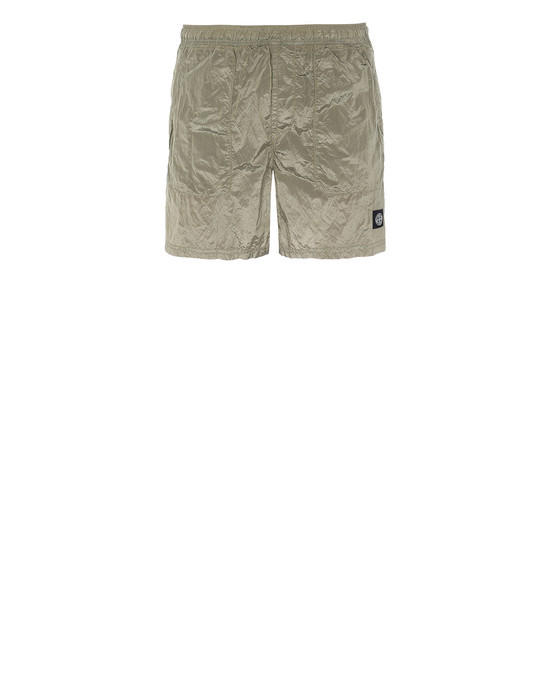 STONE ISLAND B0543 NYLON METAL Swimming trunks Man Dark Beige