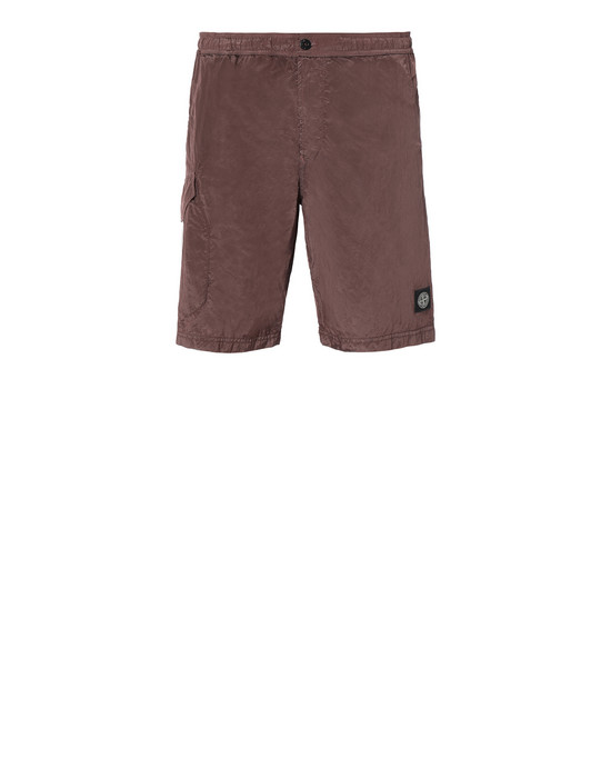 STONE ISLAND B0343 NYLON METAL Swimming trunks Man MAHOGANY BROWN
