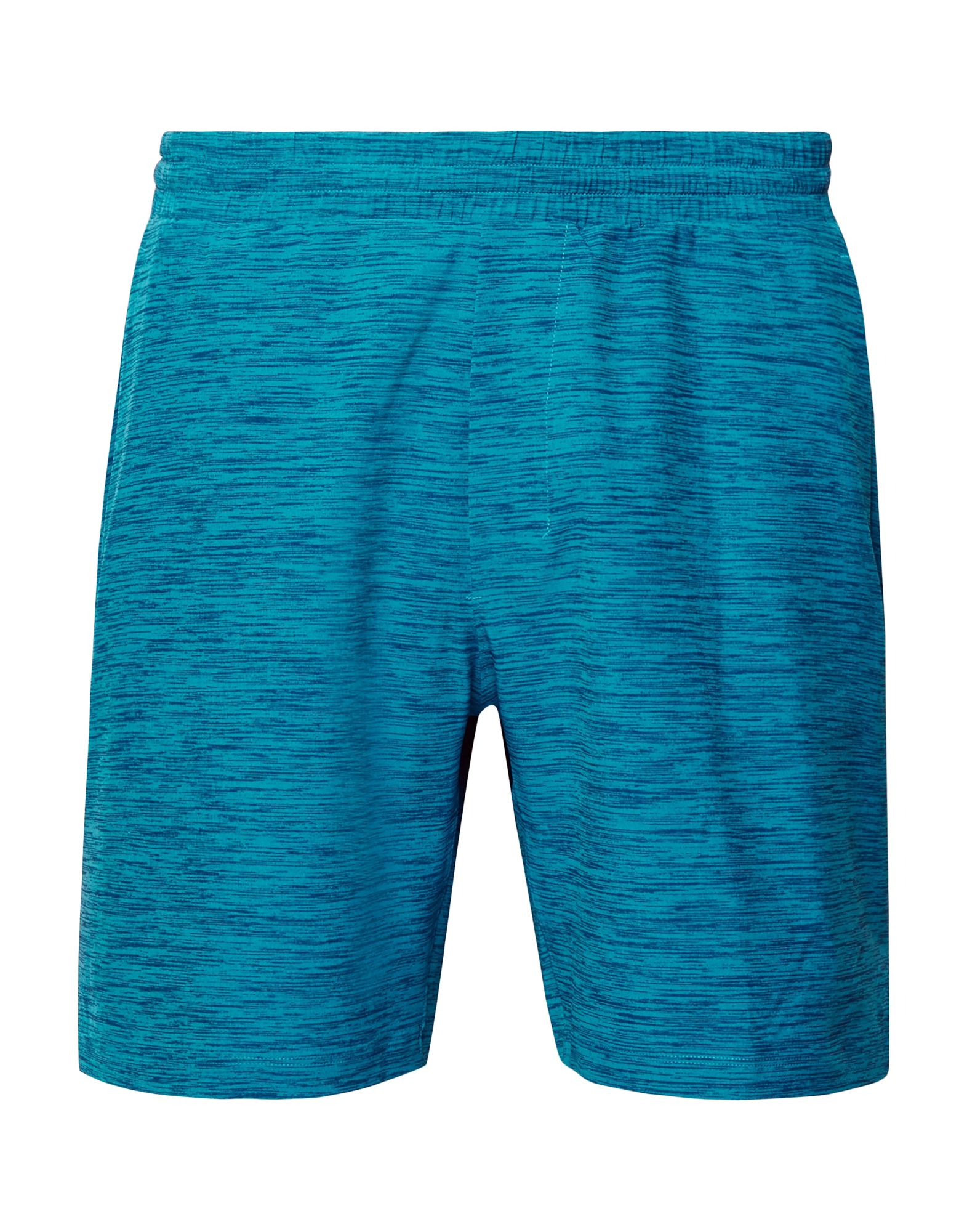 LULULEMON Swim trunks. synthetic jersey, no appliqués, two-tone, multipockets, elasticized waist, internal slip, stretch. 90% Polyester, 10% Elastane