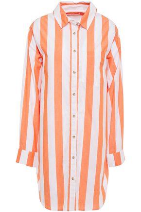 MARA HOFFMAN Striped cotton-broadcloth shirt