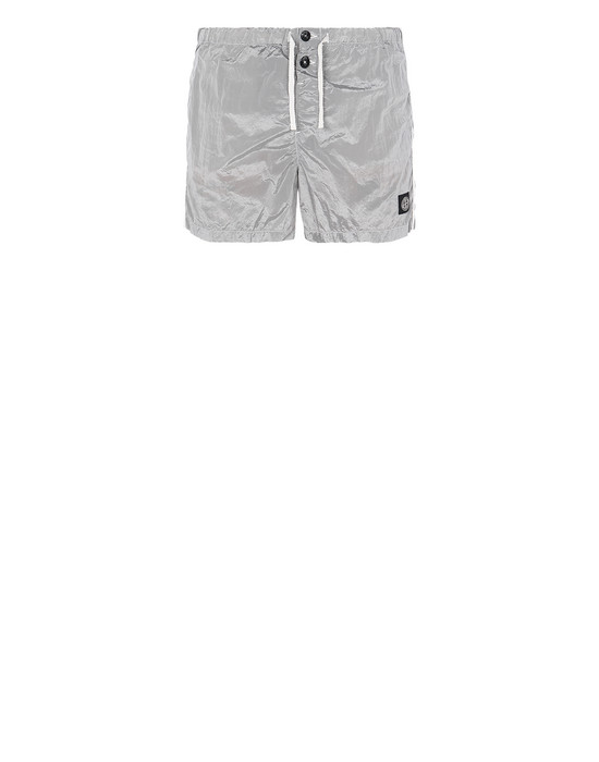 STONE ISLAND B0643 NYLON METAL Swimming trunks Man Dust Gray