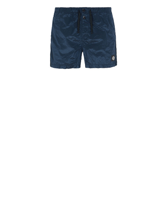STONE ISLAND B0643 NYLON METAL Swimming trunks Man Marine Blue