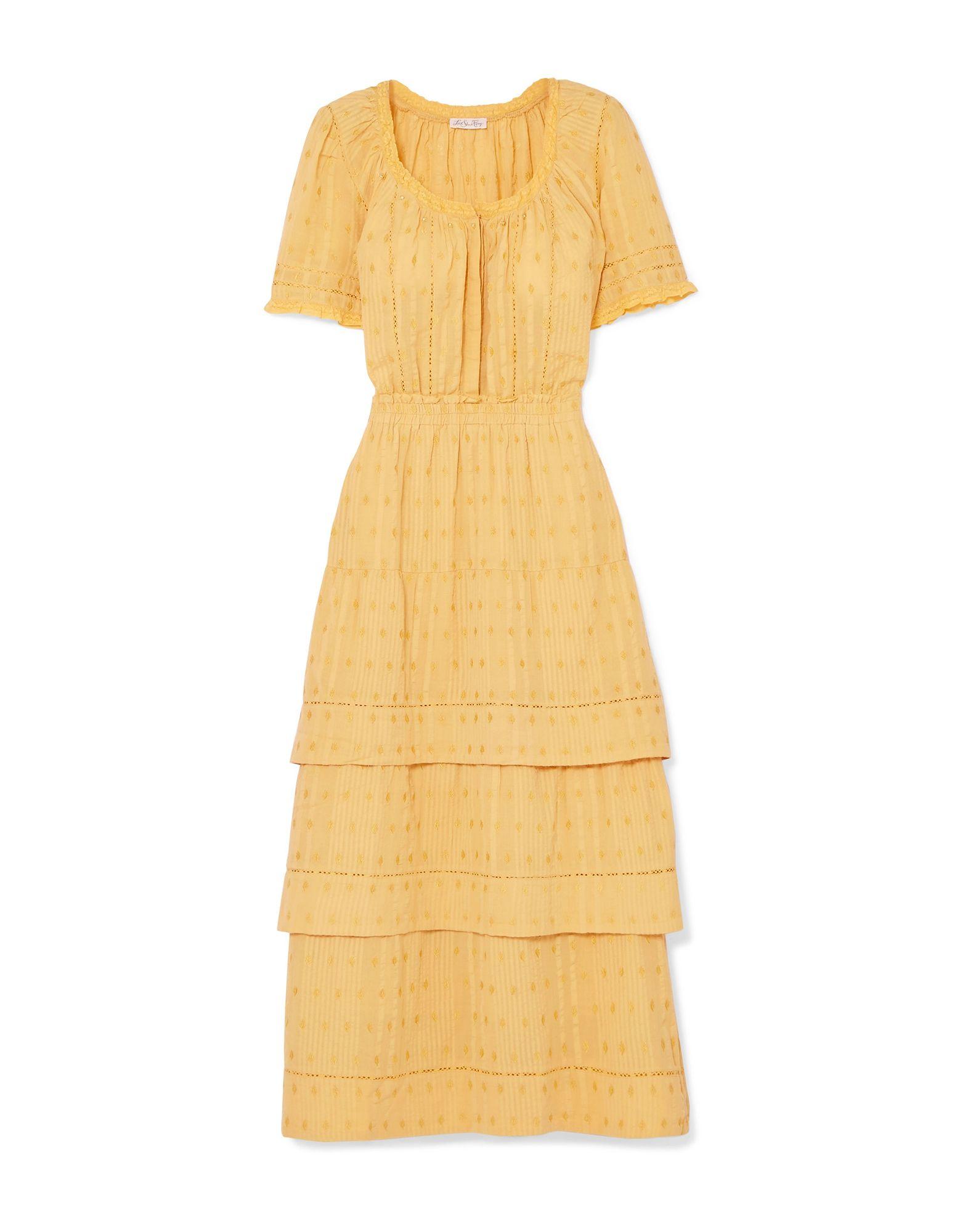 LOVESHACKFANCY Пляжное платье