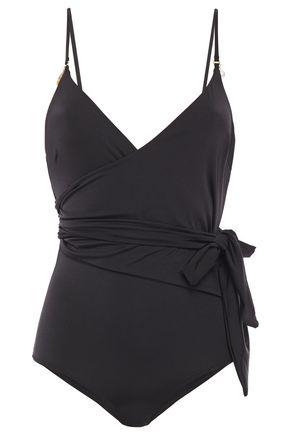 STELLA McCARTNEY Embellished belted swimsuit