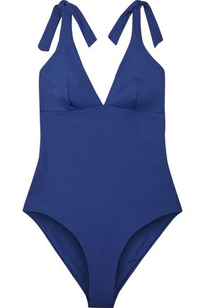 IRIS & INK Marlene bow-detailed swimsuit