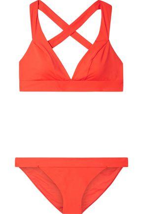 IRIS & INK Deutzia triangle bikini