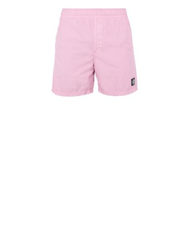 STONE ISLAND B0946 Swimming trunks Man Pink Quartz EUR 133