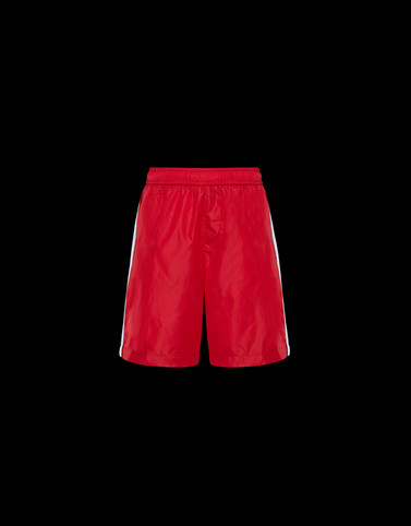 SWIM SHORTS Red New in