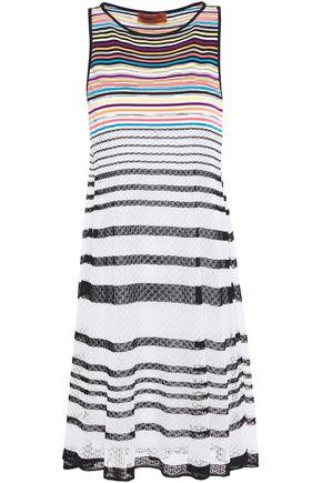 MISSONI MARE فستان قصير محاك بالكروشيه