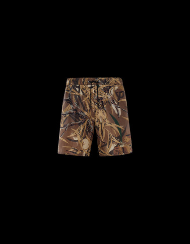 SWIM SHORTS Brown Swimwear Man
